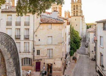 Intervention au centre historique de Montpellier