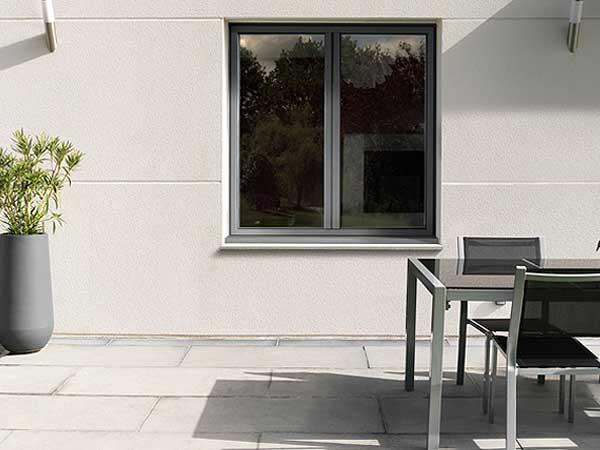 Fenêtre alu Kline vue extérieure