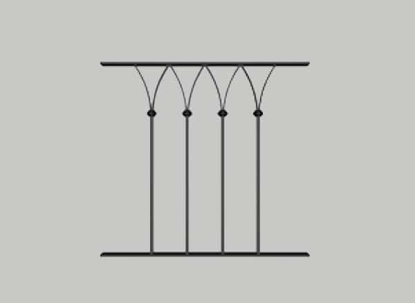 schema de la grille de defense elise pose à montpellier
