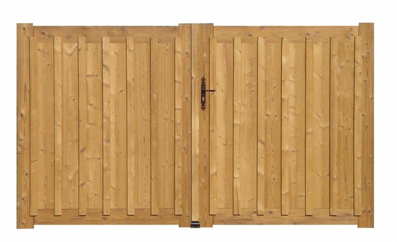 detail d'une porte en bois andernos par menuiseries du littoral
