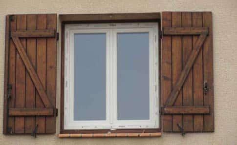 Pose nouvelle fenêtre sans habillage