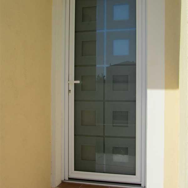 Porte d'entrée DAMIER - KLINE